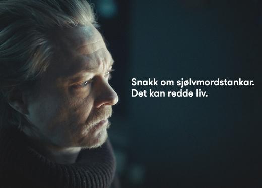 """<p>Folkeopplysningskampanje for å forebygge selvmord laget av Sykehusene på Vestlandet, Helse Vest, Rogaland Fylkeskommune, interesseorganisasjoner m.fl. <a href=""""https://helse-vest.no/vart-oppdrag/vare-hovudoppgaver/behandling/psykisk-helse-og-rus/snakk-om-sjolvmord"""" target=""""_blank"""" rel=""""noopener"""">Les mer</a></p>"""